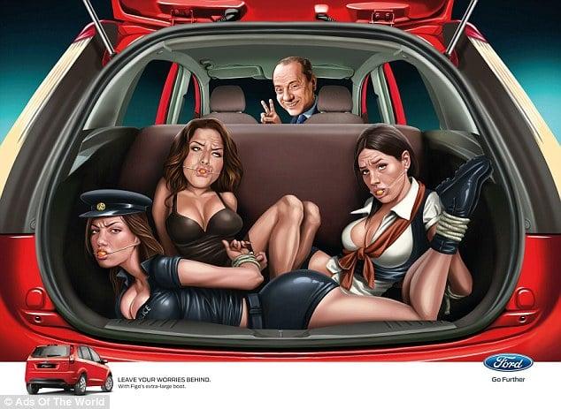 Ford Fiat ad Berlusconi
