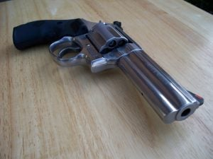 Smith & Wesson .357-magnum Photo credit commons.wikimedia.org