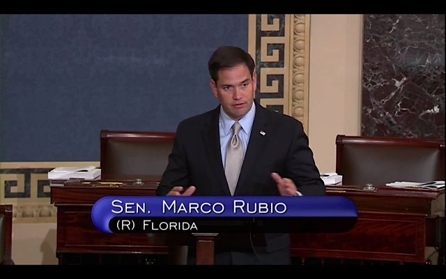 Marco Rubio floor speech