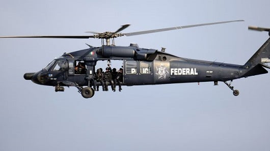Mexican helicopter