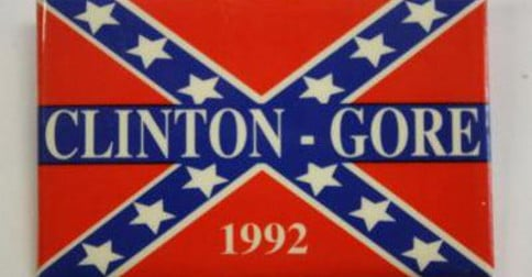 Arkansas Bill Of Sale >> 1992 Confederate flag button comes back to bite Hillary!