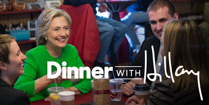 Dinner With Hillary 1