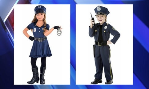 Sexy cop' costume for girls gets mom fuming; and the company ...