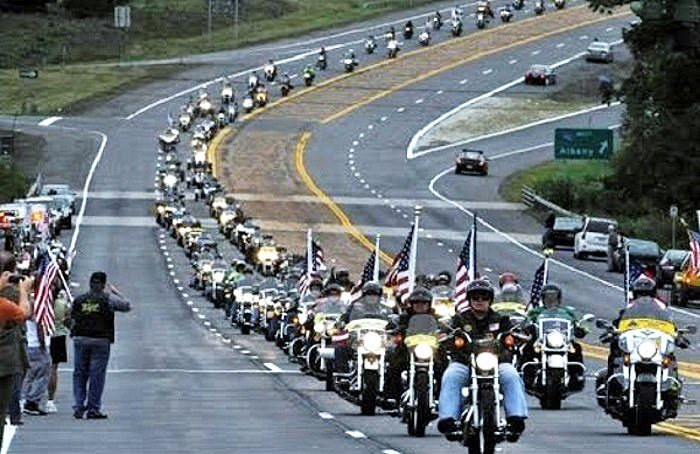 bikers for trump inauguration wall of meat
