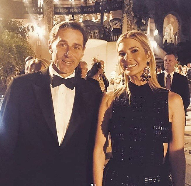 Nancy Pelosi's son, Paul Pelosi Jr., partied with Ivanka Trump at Mar-a-Lago during the Trumps' New Year's Eve shindig