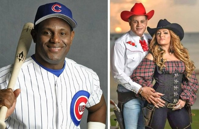 sammy sosa before after skin bleaching white cowboy