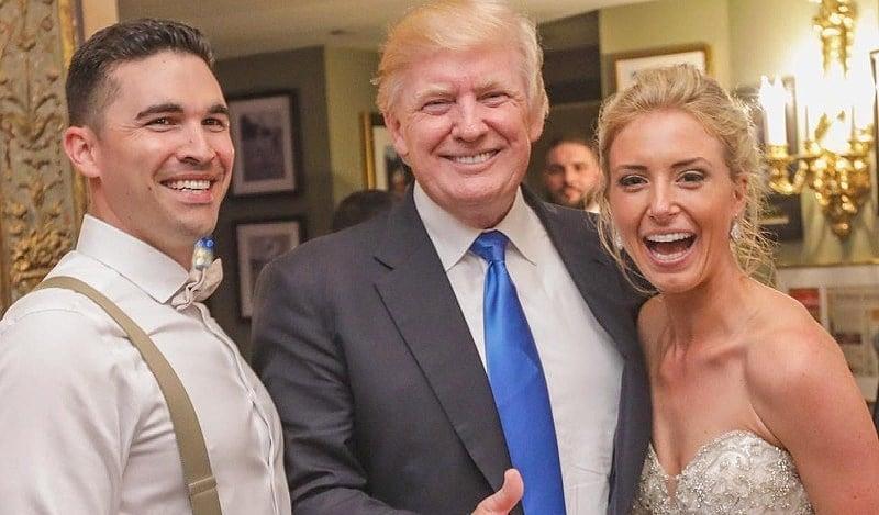 Trump Crashes Wedding.Surprise President Trump Crashes New Jersey Wedding In Best Way