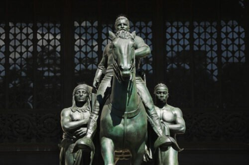 Iconic Teddy Roosevelt statue removed from NYC's American Museum of Natural History